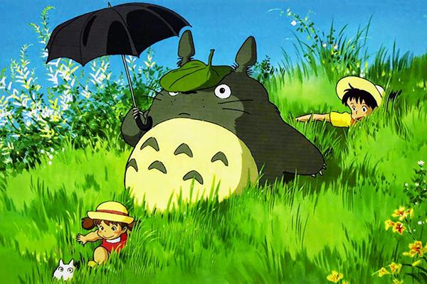 Hàng xóm tôi là Totoro bộ phim nhẹ nhàng và đầy màu sắc