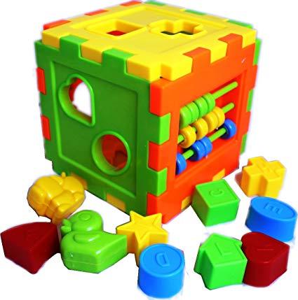 Xếp hình thả khối nhựa cube