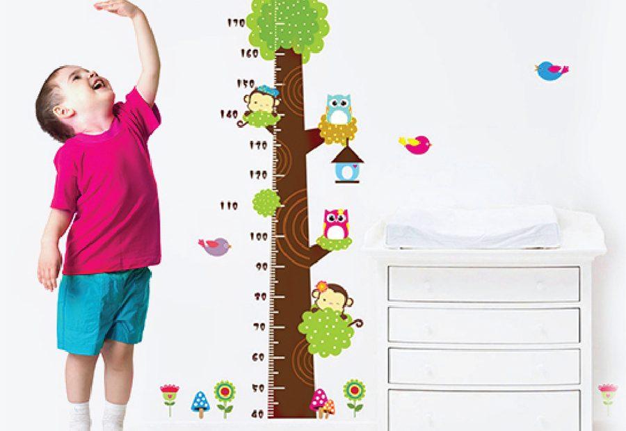 Theo dõi chiều cao cân nawjg của bé để giúp bé phát triển toàn diện.