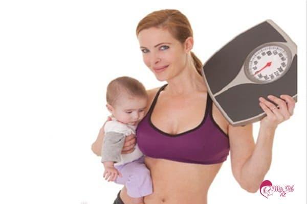 cân nặng luôn là mặc cảm của phụ nữ sau sinh