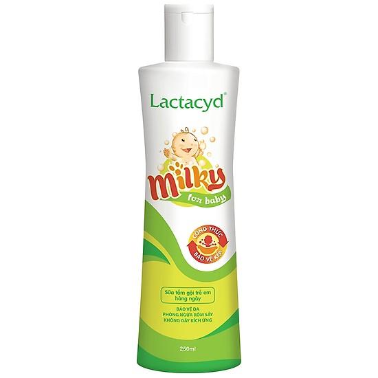 Đánh giá sữa tắm gội Lactacyd Milky