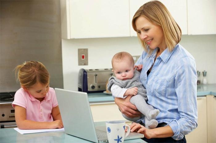 việc làm online tại nhà cho mẹ bỉm sữa