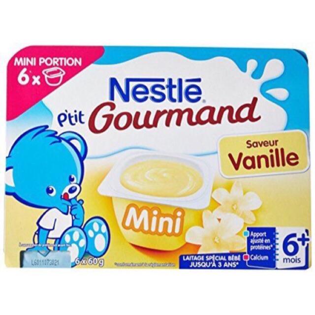 Váng sữa Nestle hương vị vani