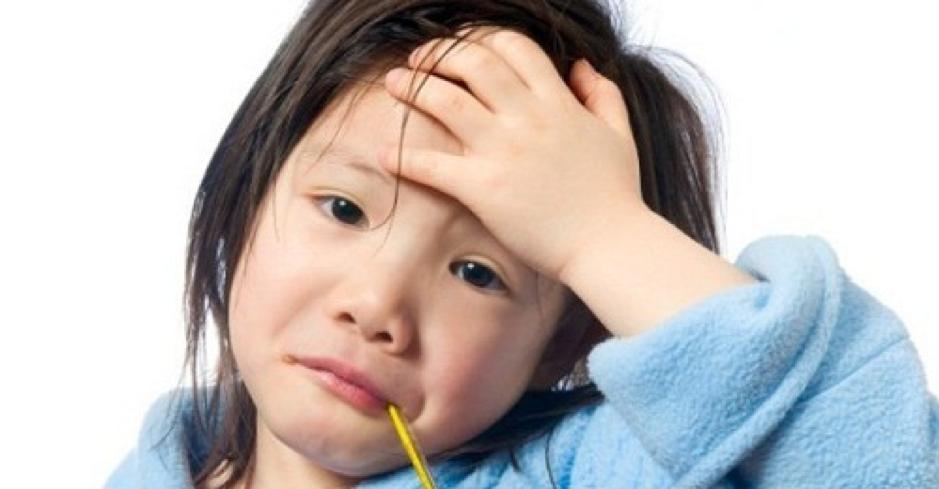 trẻ ốm dậy thường rất mệt mỏi