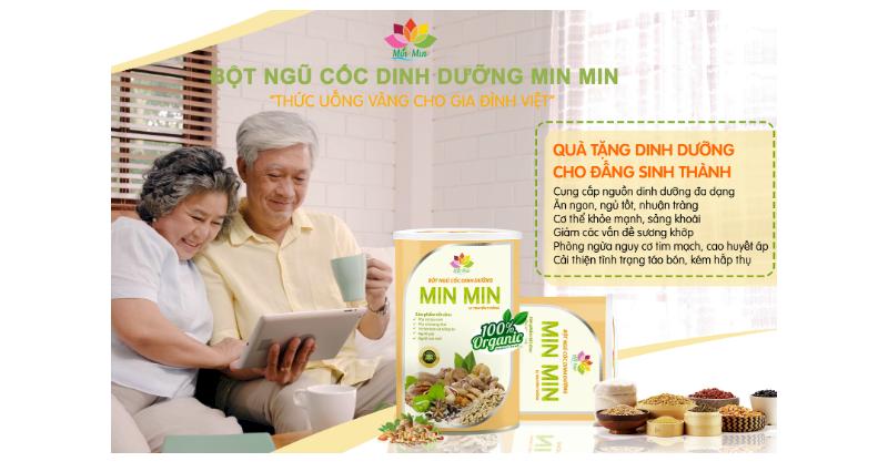 Ngũ cốc Min Min phù hợp mọi đối tượng