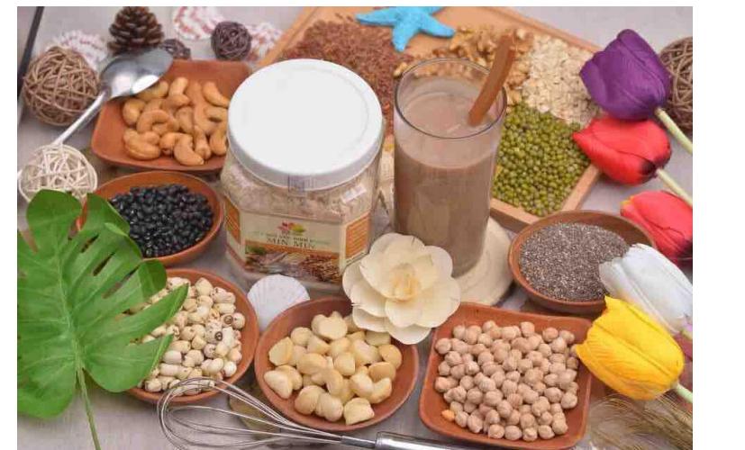 Thành phần của bột ngũ cốc Min Min