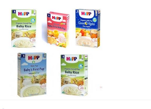 Bột ăn dặm Hipp lựa chọn hàng đầu của các mẹ cho bé yêu