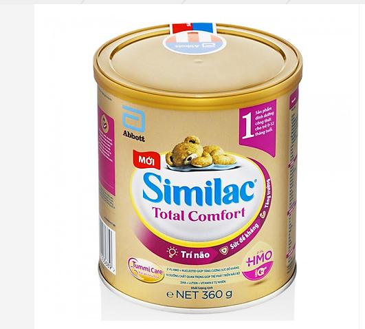 Sữa Similac Total Comfort dành cho trẻ hệ tiêu hóa yếu