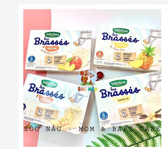 Sữa chua Bledina Brasses Pháp thơm ngon hấp dẫn