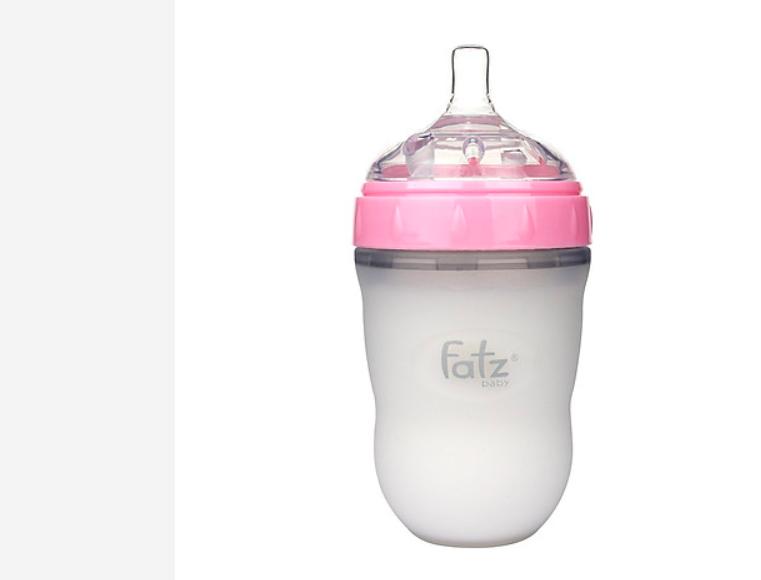 Bình Sữa Silicon Fatzbaby chống sạc, chống đầy hơi cho bé