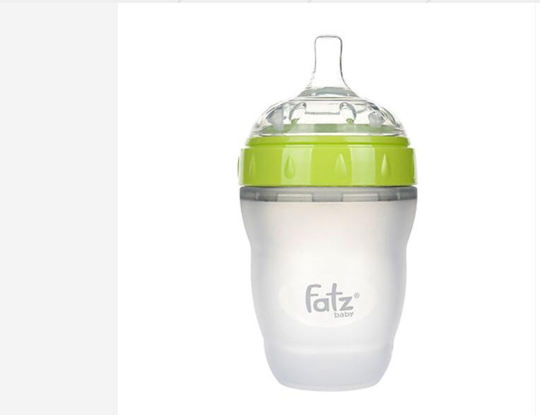 Bình sữa Silicon cổ siêu rộng Fatzbaby