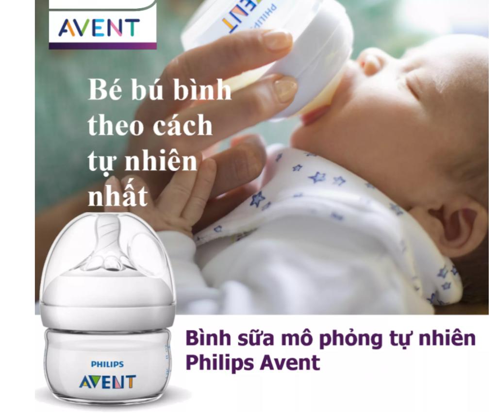 Bình sữa bằng nhựa Philips Avent không có BPA