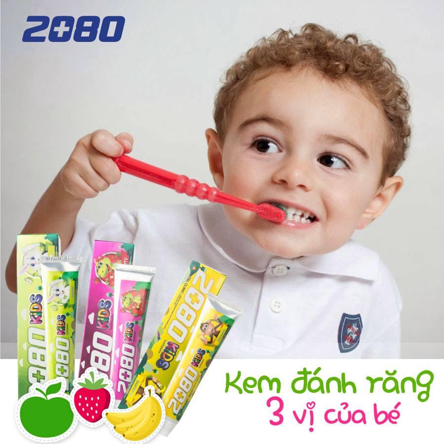 Kem đánh răng 2080 kid's của Hàn Quốc